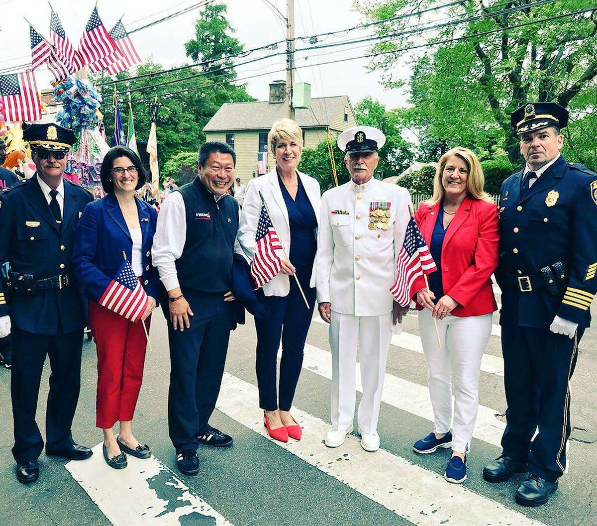 File photo from Fairfield's Memorial Day parade in 2018.