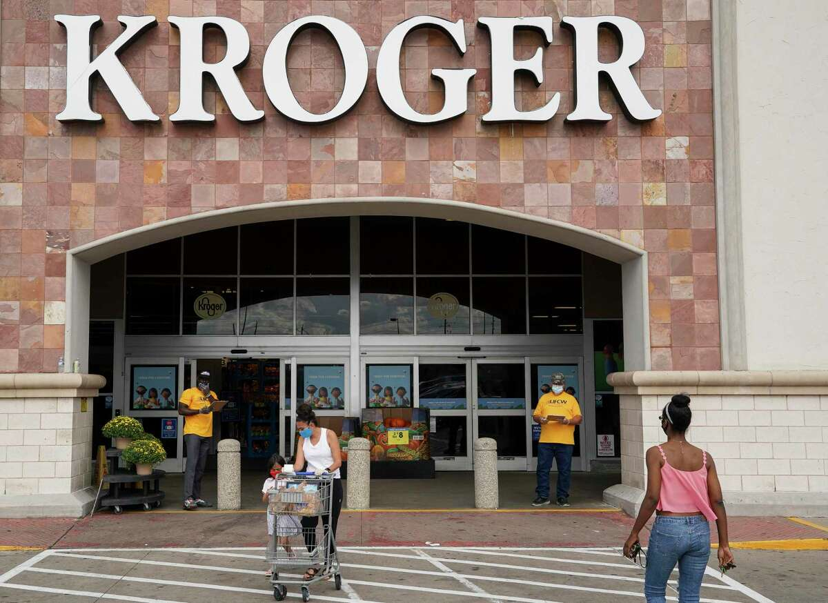 Vaccinated customers and most vaccinated employees no longer need to wear masks inside Kroger stores, the company said Wednesday in a statement.