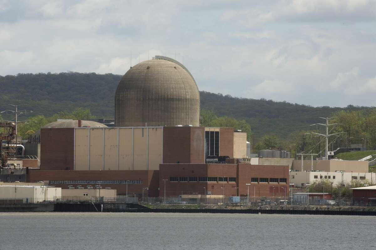 Indian Point, pictured above, officially closed at the end of April. This week, the nuclear plant was transferred to New Jersey-based Holtec International to begin the decommissioning process.