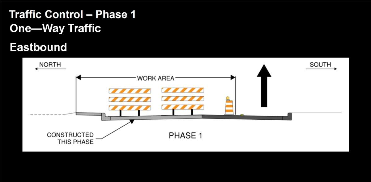 The first phase of construction on 24th Street is set to start Monday, May 24.