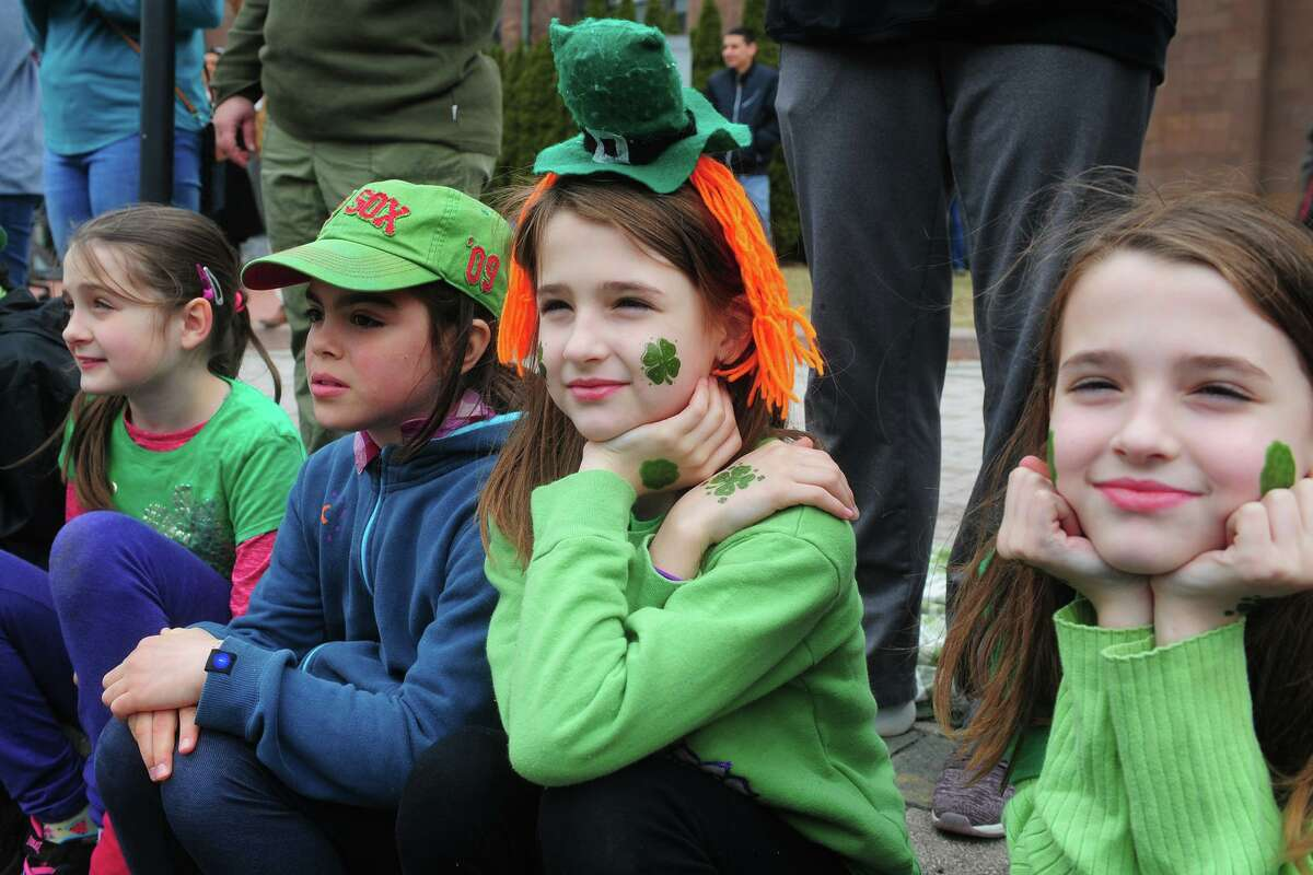 Scenes and faces from the Greater Bridgeport St. Patrick's Day Parade, in downtown Bridgeport, Conn. March 15, 2019.