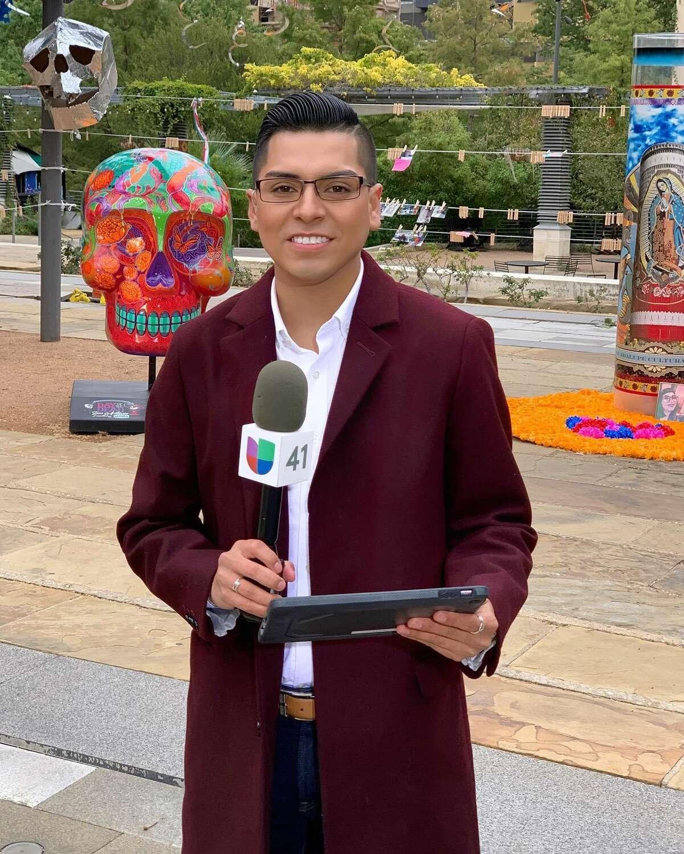 Univision San Antonio meteorologist Gabriel Torres.