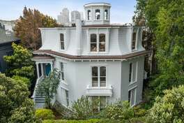 The Feusier Octagon House in San Francisco is hitting the market.