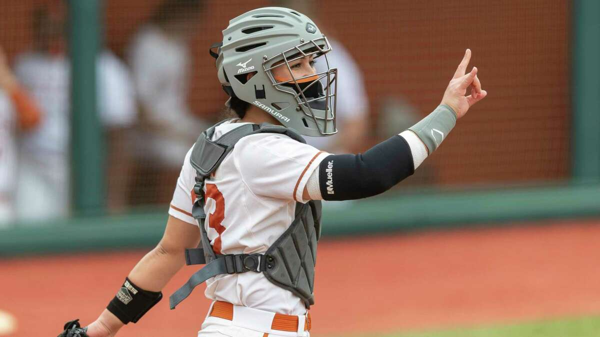 Catcher Mary Iakopo was among the players who came to Texas when coach Mike White left Oregon for the Longhorns job.