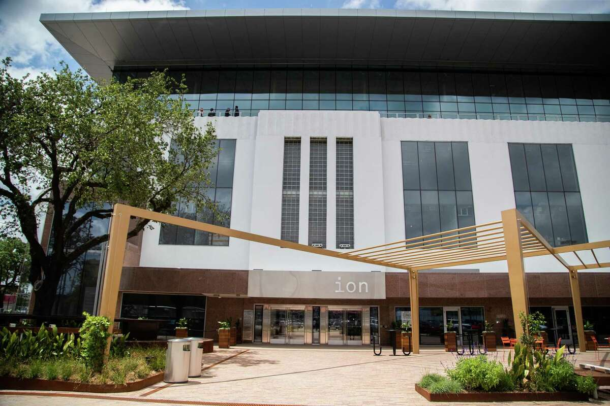 A coalition of Third Ward residents and groups condemned the proposed terms of a community benefits agreement released earlier this week by a working group appointed by Rice University for the institution's new Ion tech hub, pictured Thursday, May 13, 2021 in Houston.