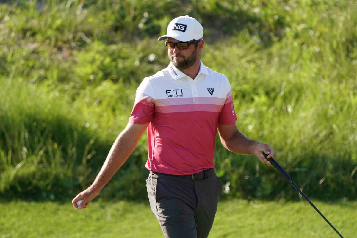 Corey Conners birdied every par-5 hole en route to a first-round 67 at the PGA Championship.