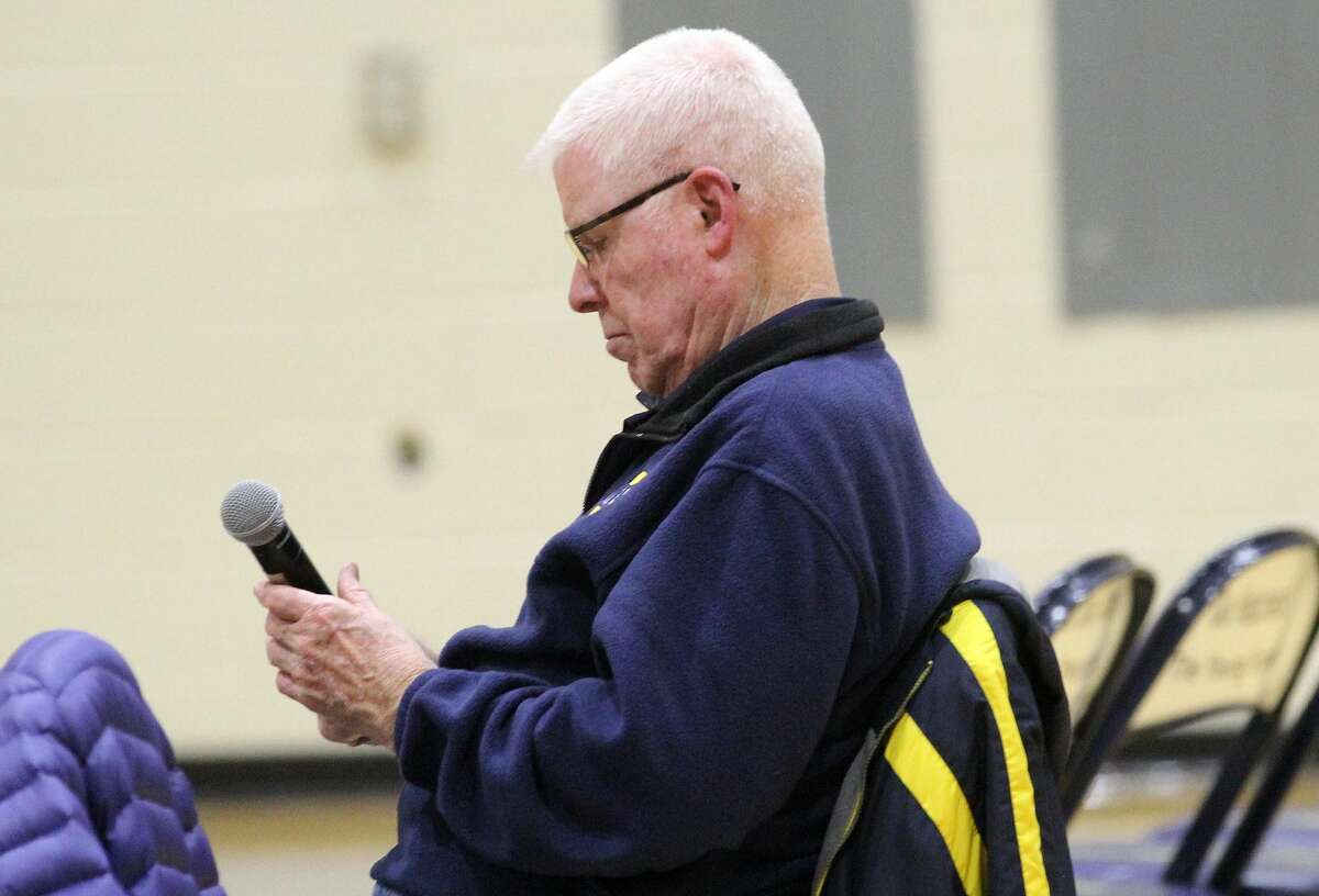 Lee Kahler has been a coach at Bad Axe High School for more than 50 years.