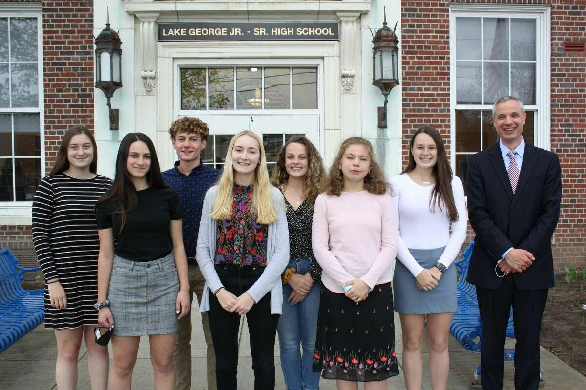 Lake George's honor students