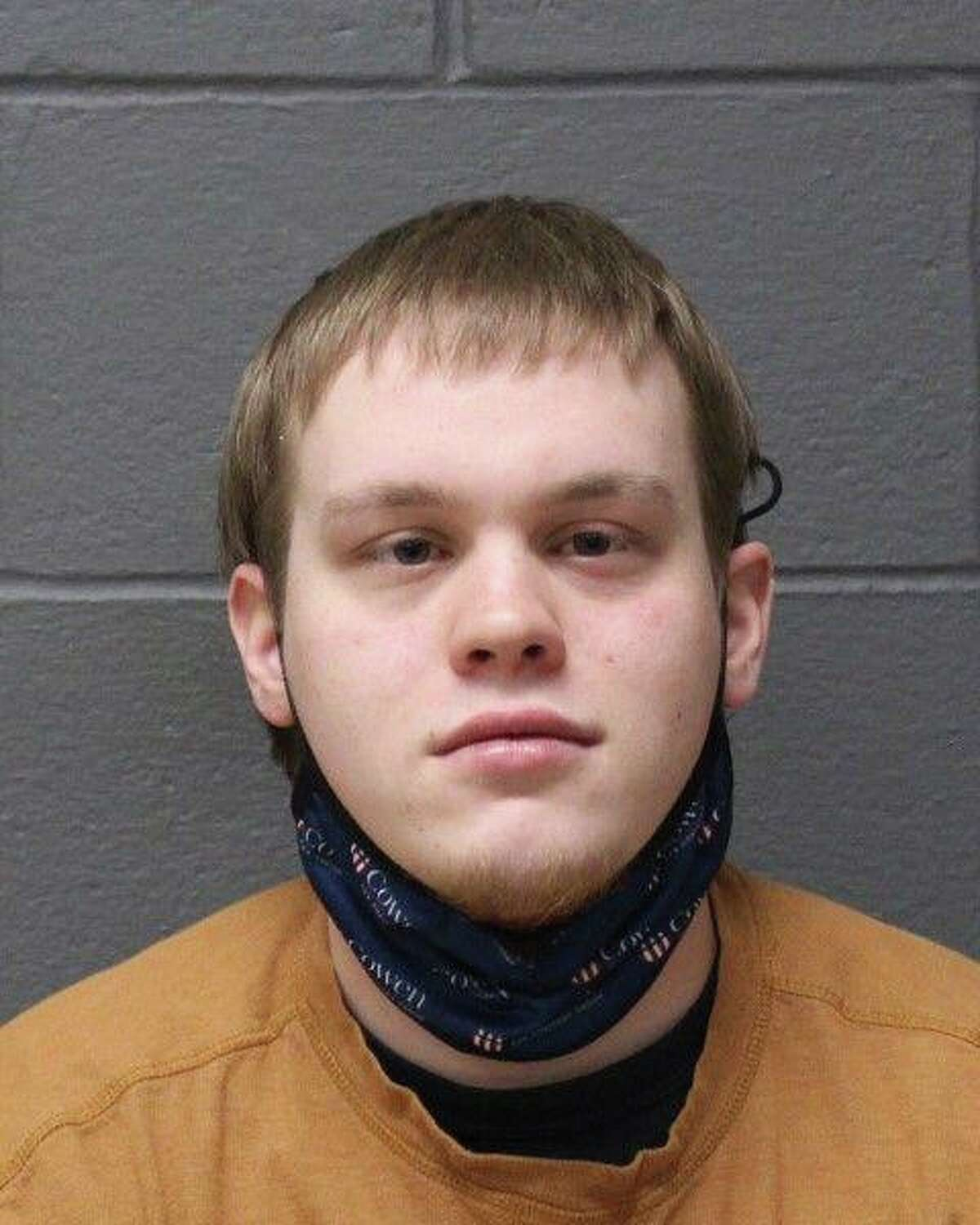 Mark F. Daly, 24, of Heather Lane in Southington, Conn., was charged with fourth-degree sexual assault.