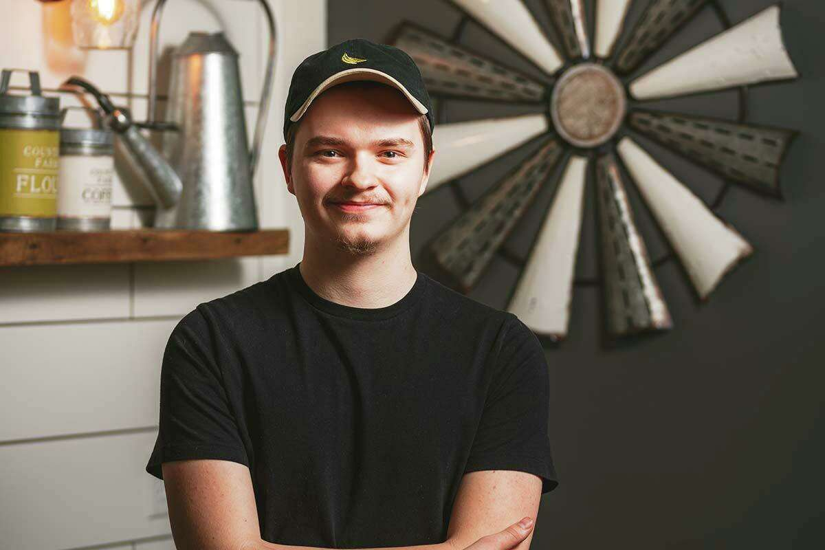 Chef Dalton Hubbal of The Barn Restaurant & Bar in Morris.