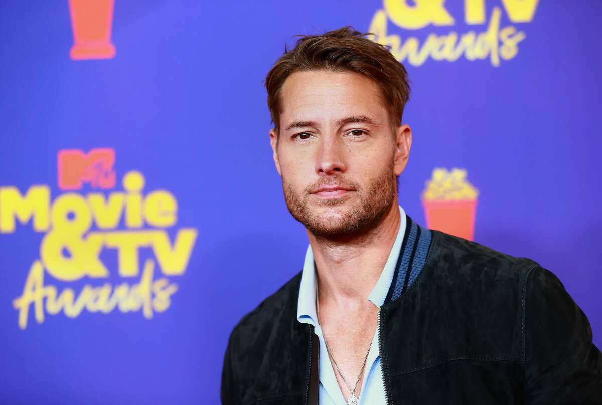 Justin Hartley attends the 2021 MTV Movie & TV Awards at the Hollywood Palladium on May 16, 2021 in Los Angeles, California.