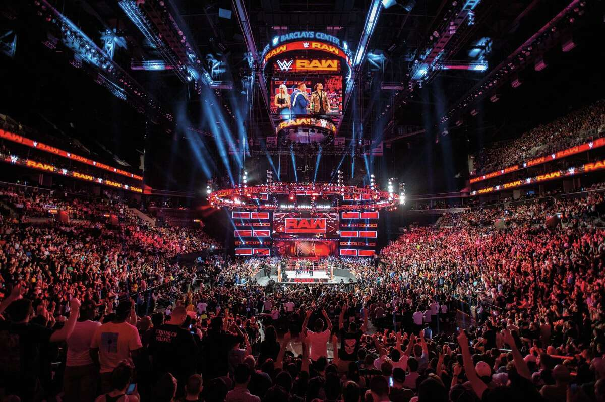 A view of a WWE