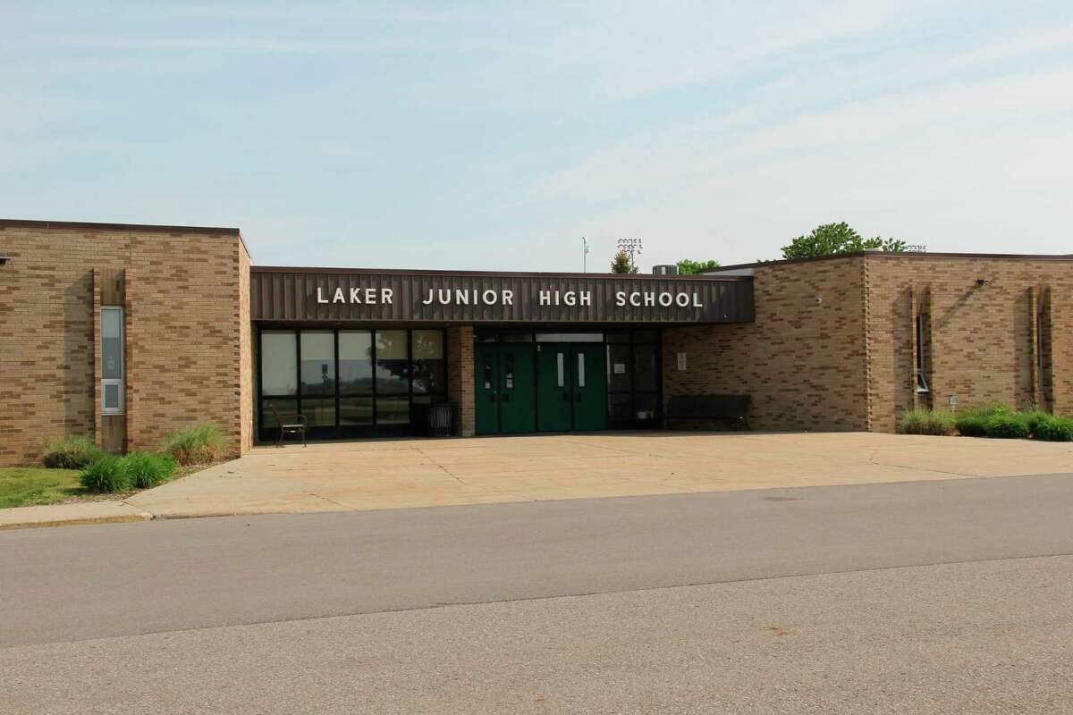 The Laker Secondary School will be split into a Middle and High School starting next school year. The schools were previously separate before combining as a cost-saving measure and response to declining enrollment over a decade ago. (Robert Creenan/Huron Daily Tribune)
