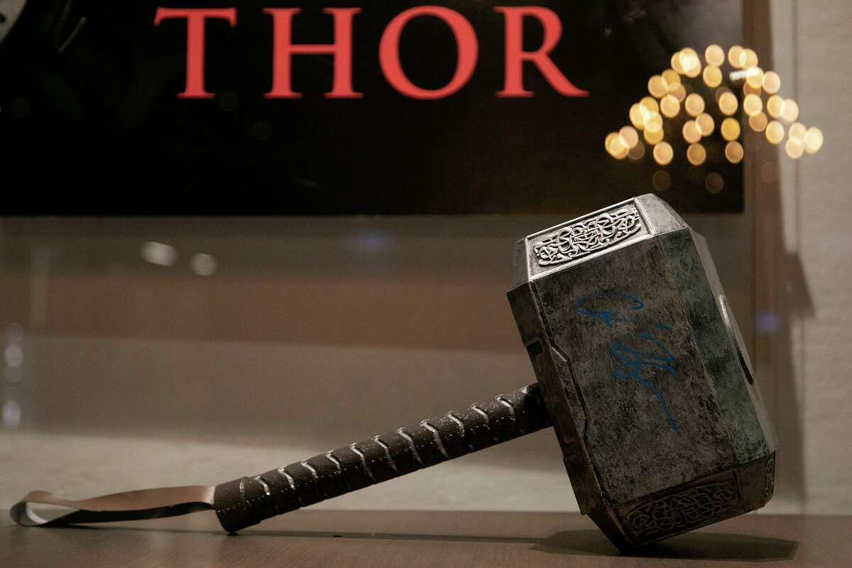 Thor's hammer, from the film