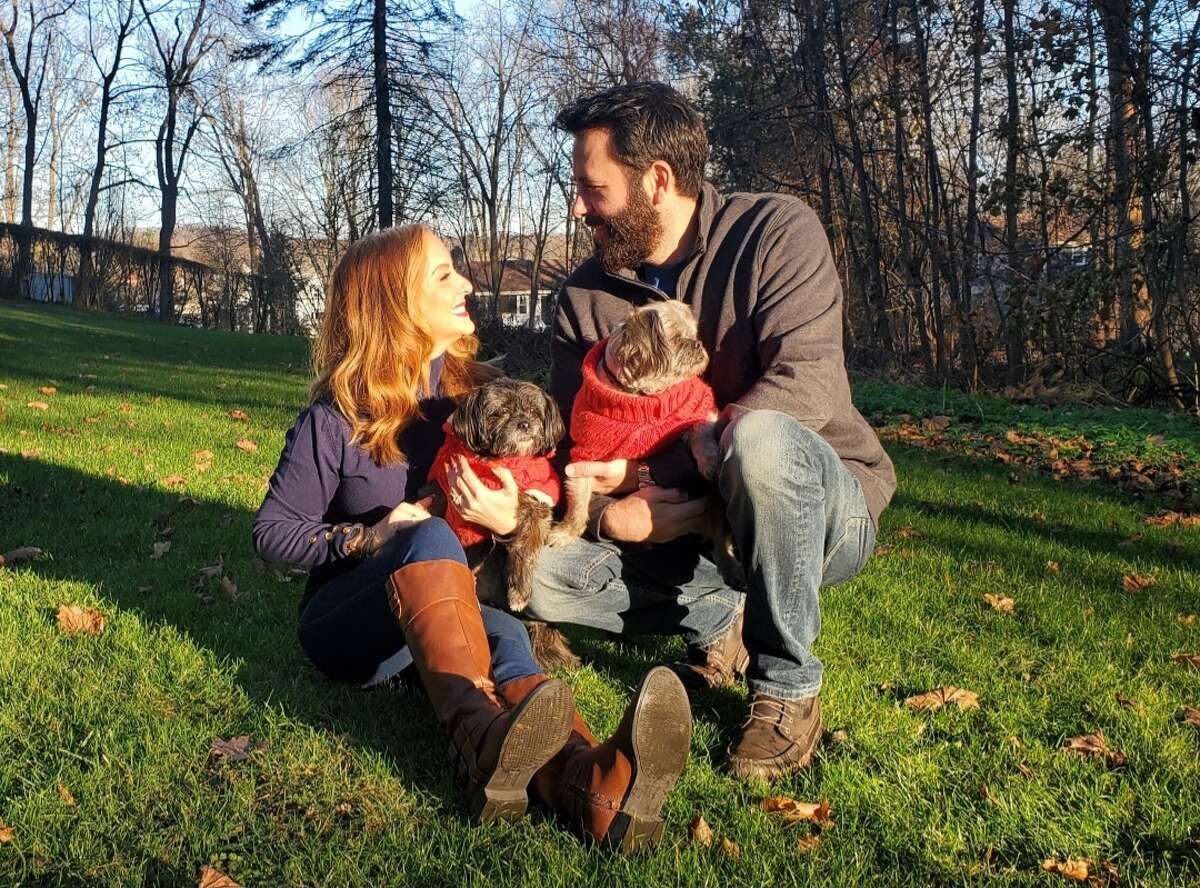 Amanda Gabbard, her husband Michael McGuirk and their two dogs relocated to Ridgefield, Conn. during the COVID-19 pandemic after living in New York City for over 21 years.