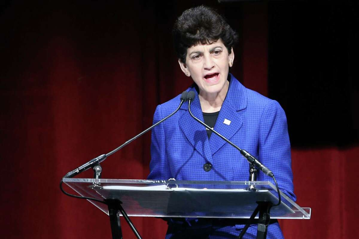 Mary Papazian, president of San Jose State University, announced Thursday that she will resign from the helm on Dec. 21, 2021.