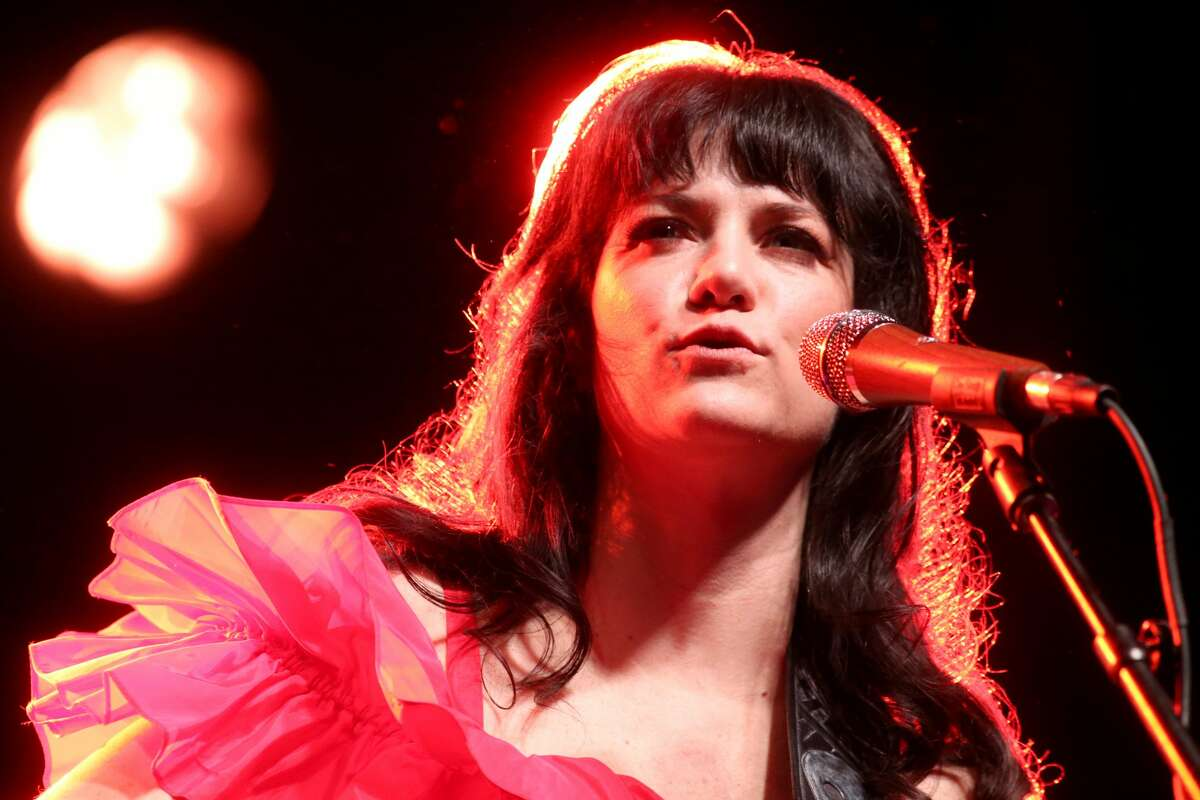 AUSTIN, TX - APRIL 03: Nikki Lane performs in concert at the Long Center for the Performing Arts on April 3, 2021 in Austin, Texas. (Photo by Gary Miller/Getty Images)