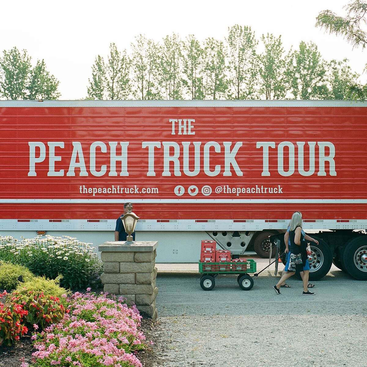 The Peach Truck Tour is coming to San Antonio this summer.