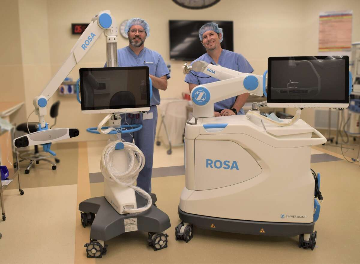 Covenant Health Plainview recently unveiled the ROSA robotic surgical system.