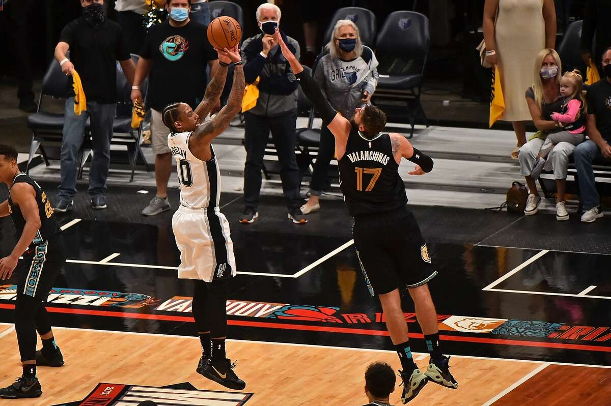 While Wednesday night ended in a loss for the Spurs, the play-in game against the Memphis Grizzlies was a win for ESPN.