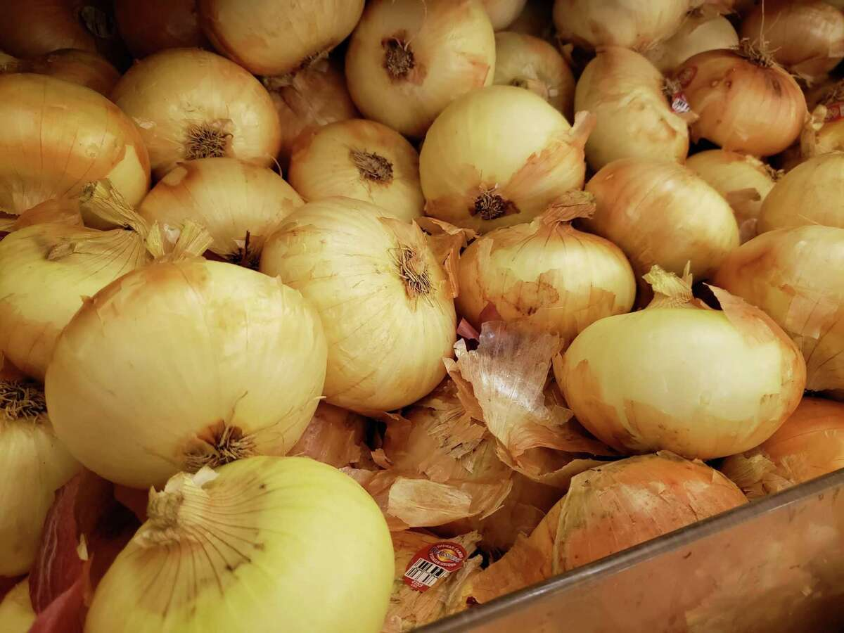 Sweet Vidalia onions from Georgia are in season now.