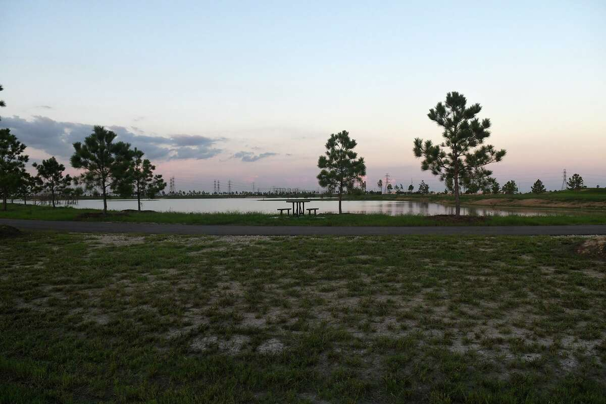 John Paul's Landing, an 865-acre property in Katy, features three separate entrances accessible off West Road. The three areas are only accessible by a walking trail within the park and the third area, located at 24002 West Road, includes a 150-acre, stocked lake.