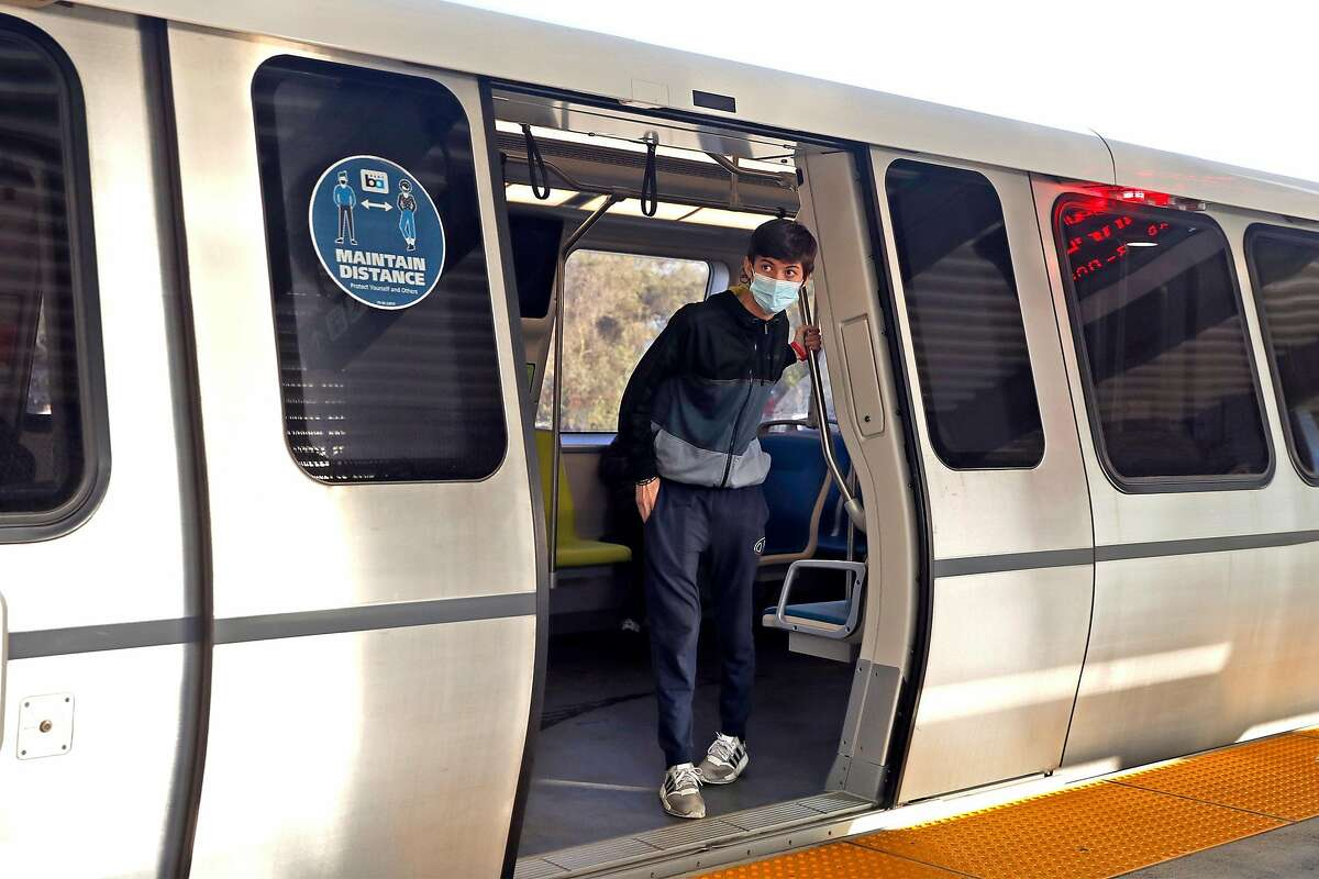 BART ridership is at 15% of pre-pandemic levels.