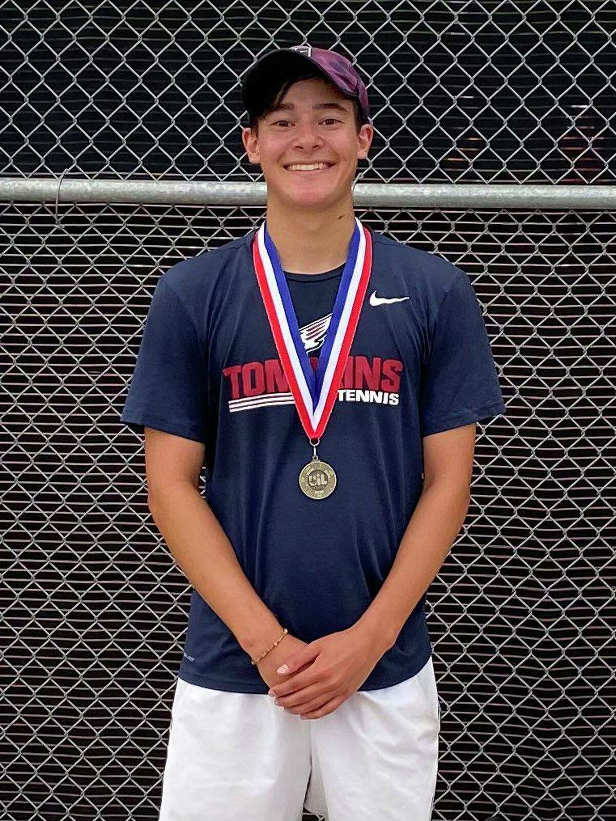 Tompkins junior Charles Kuchler was the boys singles runner-up at the Region III-6A tennis tournament, qualifying for the UIL state tournament.