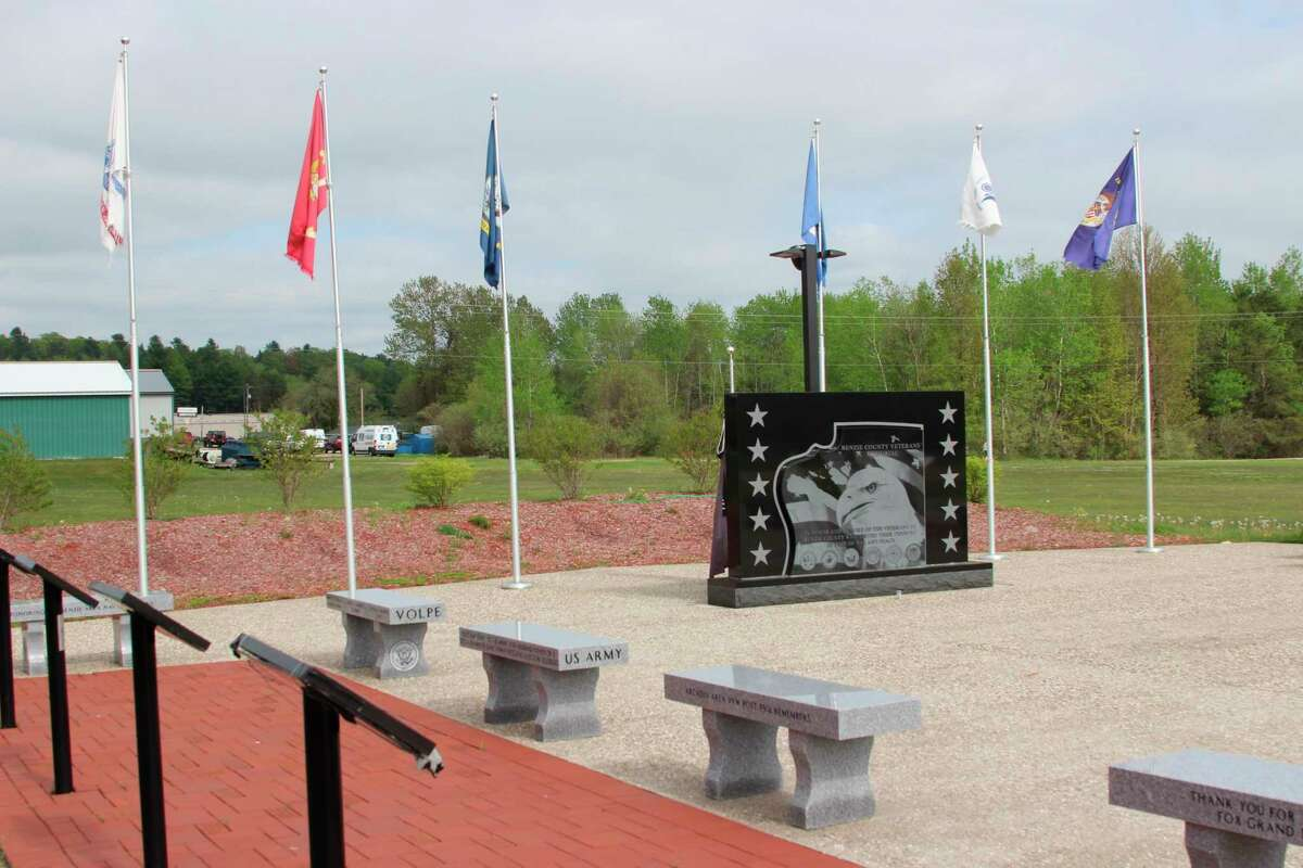 Benzie County will be hosting a Memorial Day ceremony at the Veterans' Memorial on May 31. (Courtesy Photo)