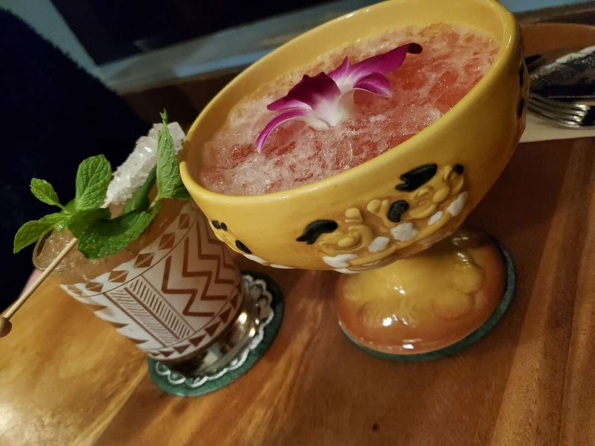 Colorful drinks are part of the allure of Trader Vic's, which is opening an outpost at Mineta-San Jose International Airport.