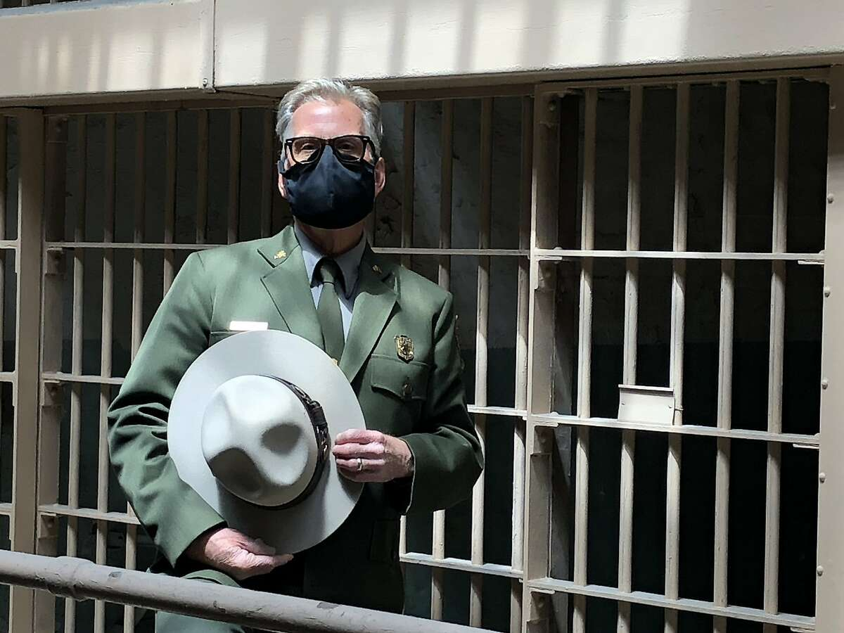 Park Service Ranger John Cantwell has served more time on Alcatraz Island (30 years) than the longest-serving inmate, Alvin