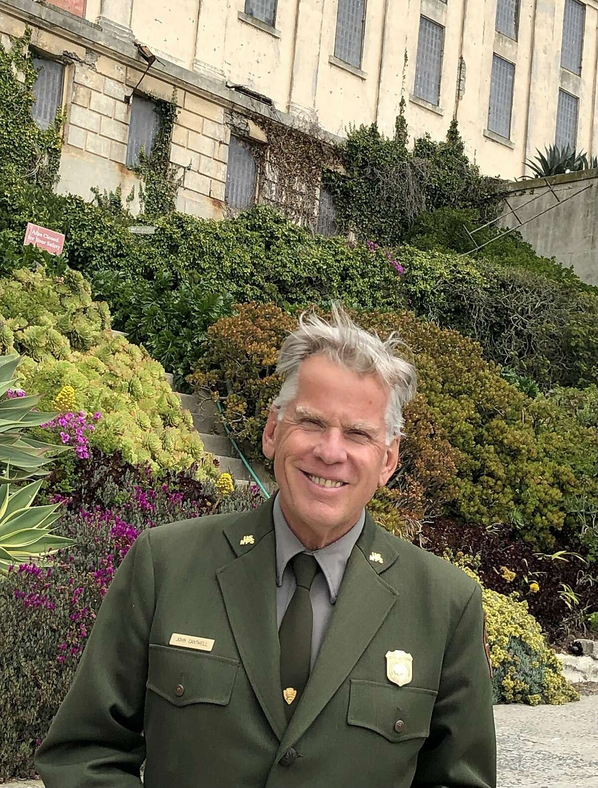 Ranger John Cantwell has been a force at Alcatraz. For years, he organized reunions, bringing back former inmates, former guards and families who lived on the island.