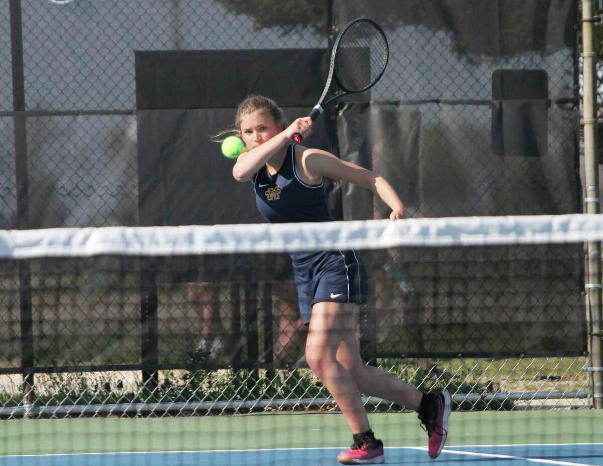 Johanna Seibert and the Manistee Chippewas took fourth overall in their Division 4 regional at Traverse City St. Francis on Thursday. (News Advocate file photo)
