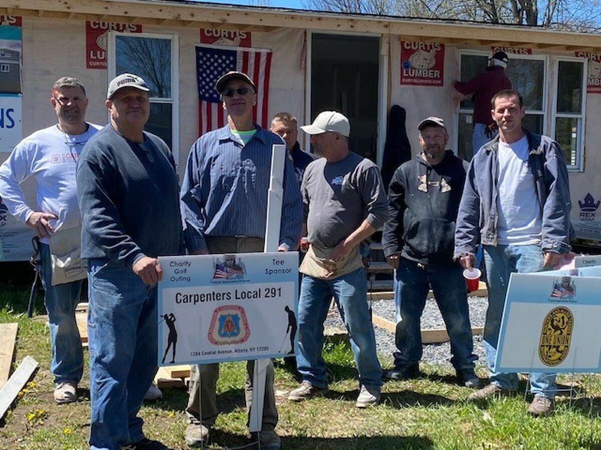 Malta Veterans Appreciation ProgramCarpenters Local 291 and other volunteers are ready to continue renovating a doublewide modular home that will go to a veteran selected by the Malta Veterans Appreciation Program.