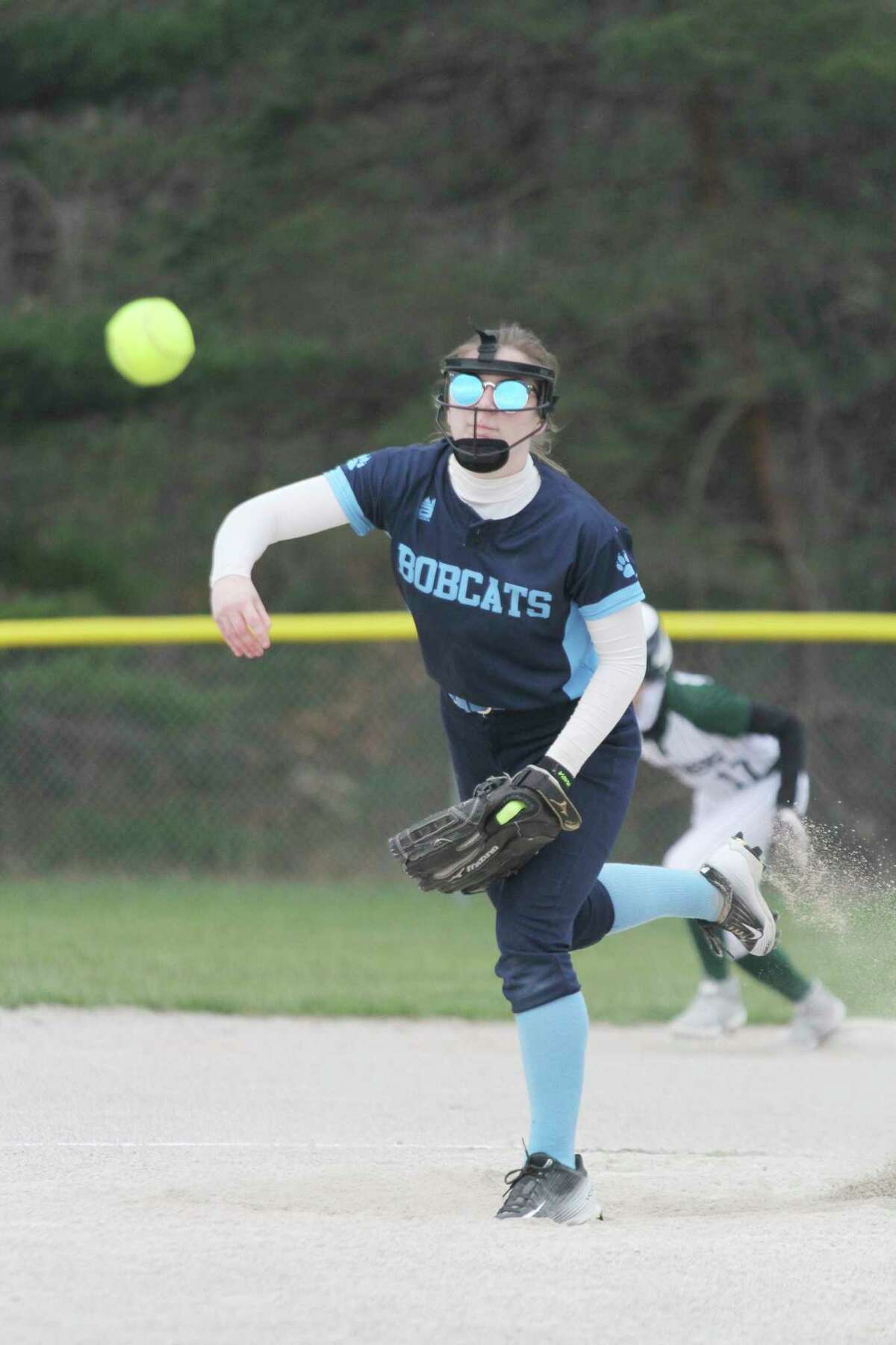 The Brethren softball team split its doubleheader with Buckley on Thursday. (News Advocate file photo)