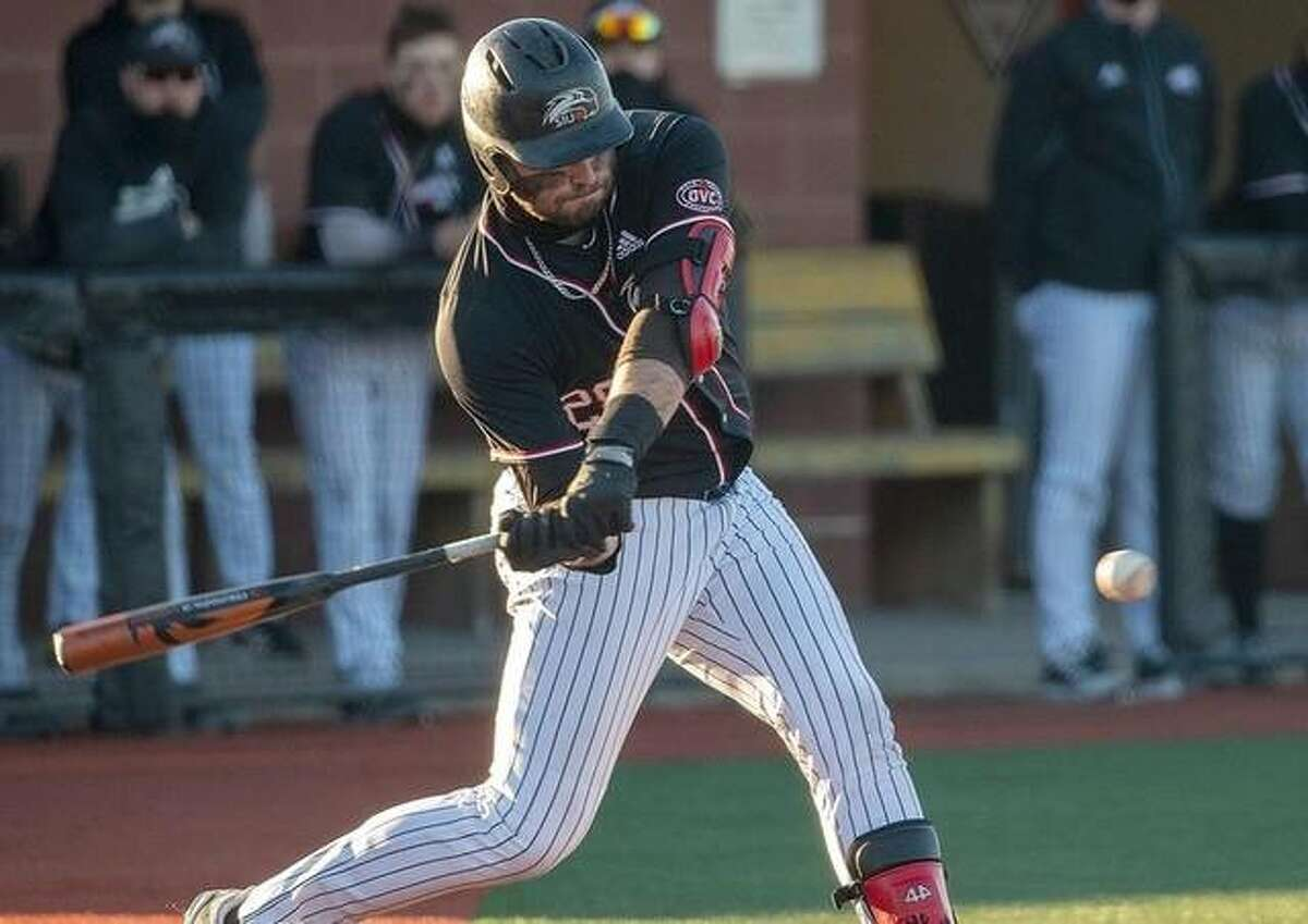 SIUE's Ole Arnston homered in the first game of Friday doubleheader at Tennessee Tech. The Cougars dropped both games of the twinbill 12-7 and 13-12, despite hitting 10 home runs total in the two games. SIUE hit a school record six homers in the nightcap.