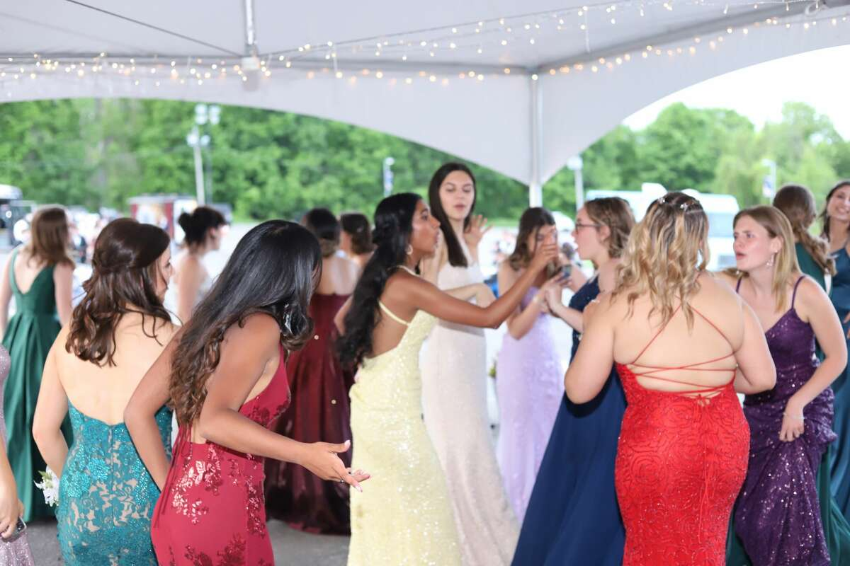 Brookfield High School held its prom outside on school grounds on May 21, 2021. Were you SEEN?