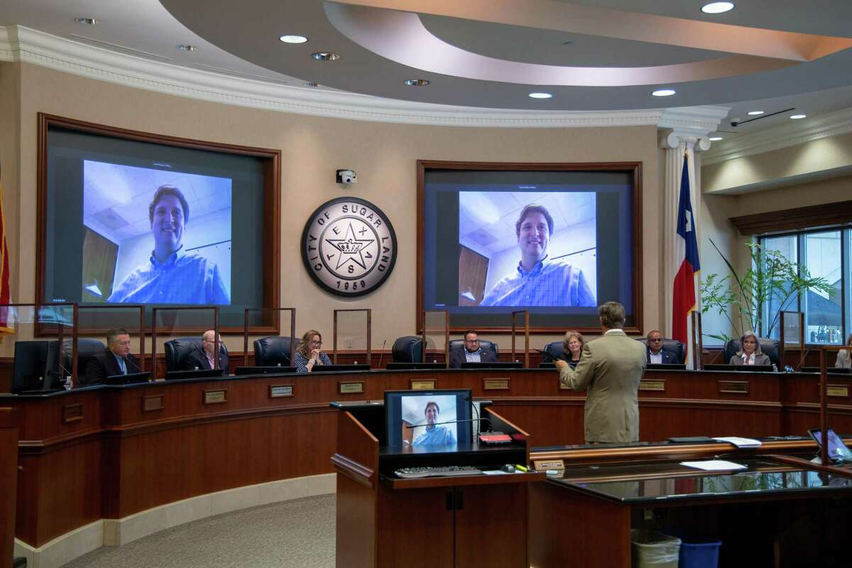 The final recognition declaring May 16-22, 2021, as National Public Works Week was presented by Brian Butcher, Sugar Land's director of public works.