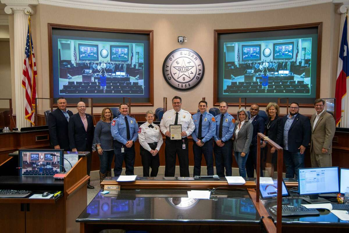 The Sugar Land City Council recognized May 16-22 as National Emergency Medical Services Week.