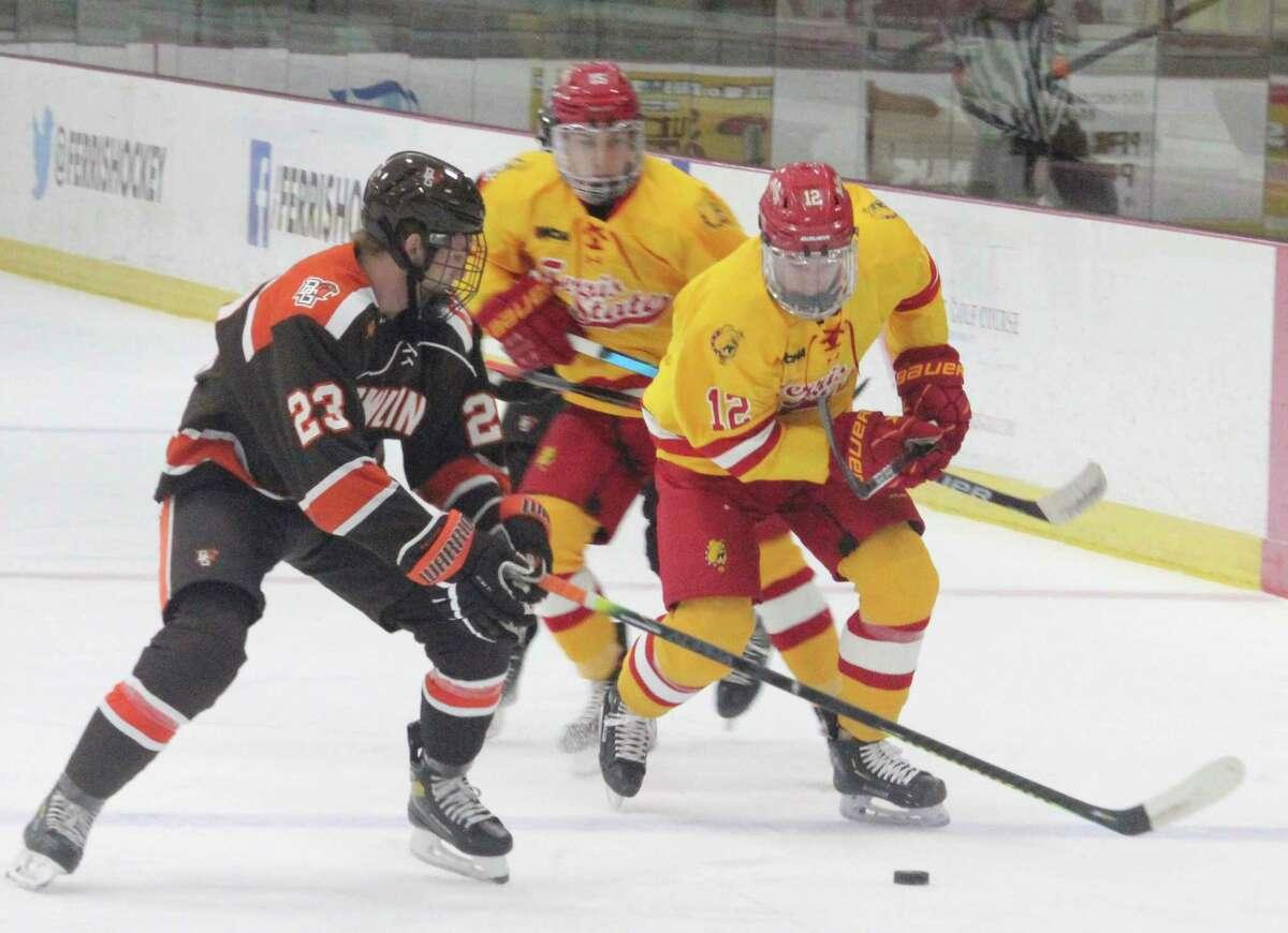Ferris' hockey team will have 26 CCHA games next season. (Pioneer file photo)