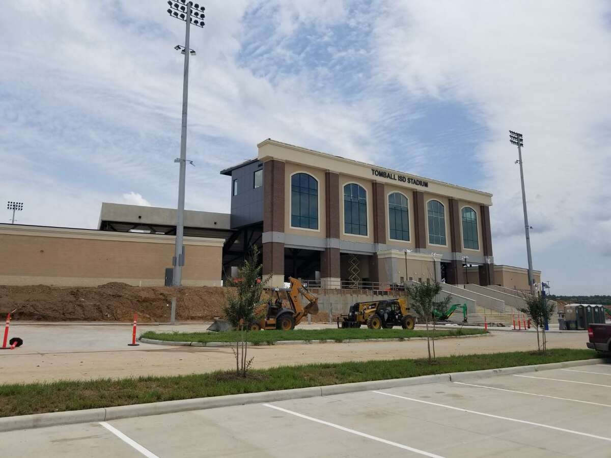 Construction on Tomball ISD's brand-new district stadium, part of the Elmer & Dorothy Beckendorf Educational Complex,is scheduled to be completed in June, with the venue officially opening sometime in August. The project was made possible by Bond 2017, a $275 million bond package.