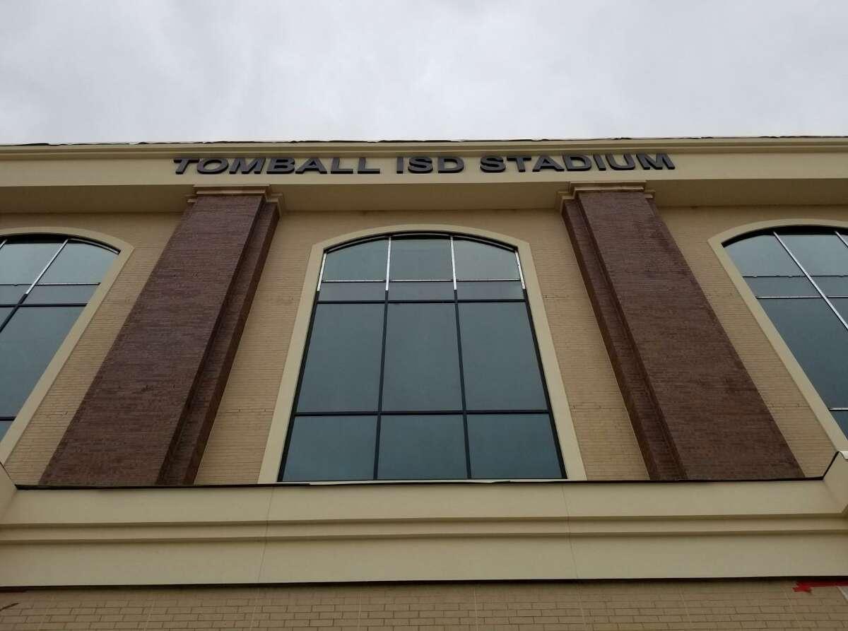 Tomball ISD dedicated its new $37.29 million stadium on Monday.