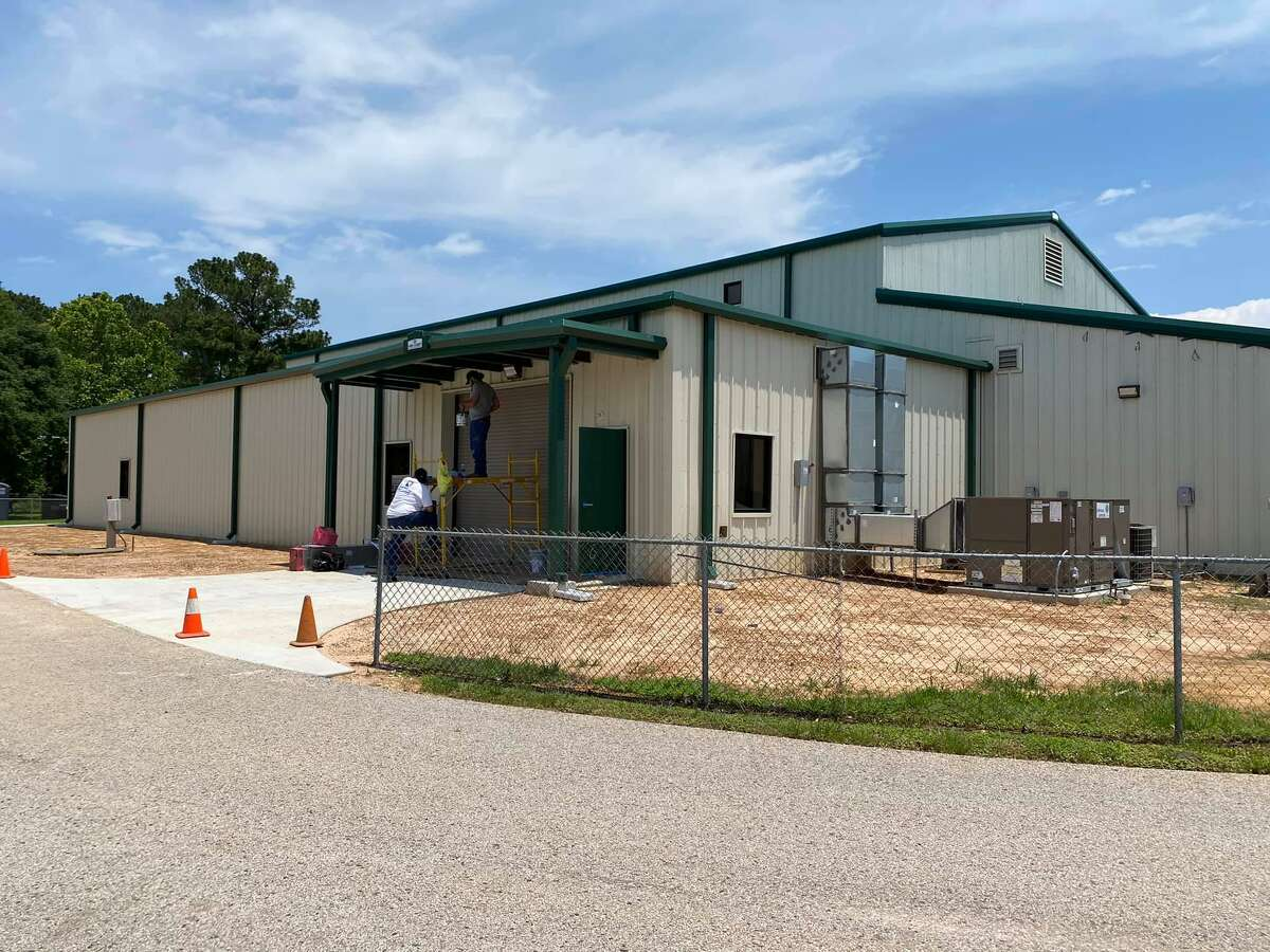 Society of Samaritans' recently completed food pantry, 31355 Friendship Drive, Magnolia.