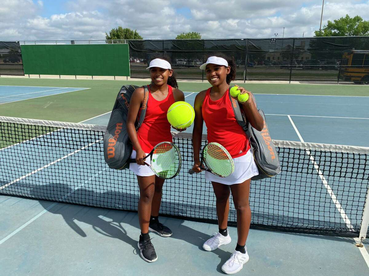 The Stafford girls doubles team of Ariane Karera and Yvette Karera won the Class 4A state championship May 20-21 in San Antonio, becoming the first Spartans to win a state title.