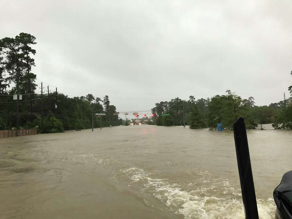 Spring firefighters assist residents during Hurricane Harvey