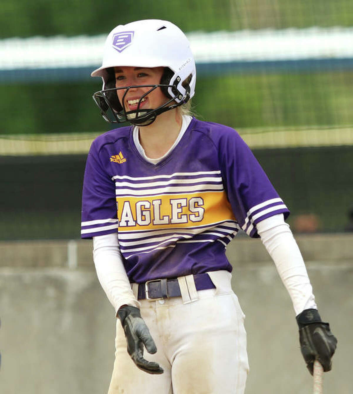 CM's Braylen Cox was 2 for 4 at the plate with a pair of doubles and seven RBIs to lead the Eagles to a 14-3 victory over Granite City Friday at the Bethalto Sports complex.