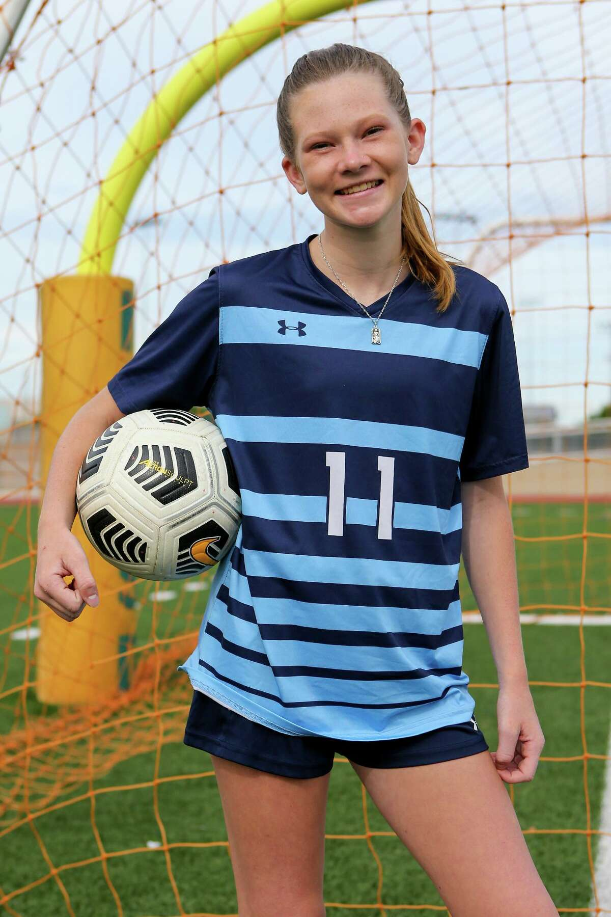 Newcomer of the Year Mabry Williams had 14 goals for Johnson, including two in a playoff-clinching win.