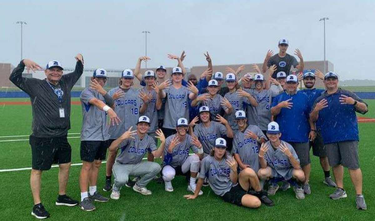 The Buna baseball team poses for a picture after beating Anderson-Shiro on Saturday in the Class 3A regional quarterfinals.