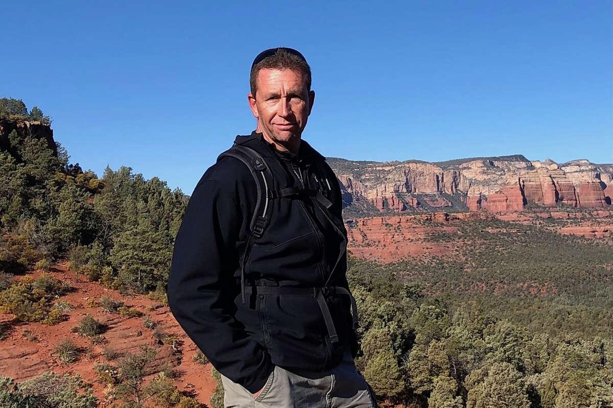 Mark Osborne, shown hiking in Sedona last year, loved outdoor adventures.