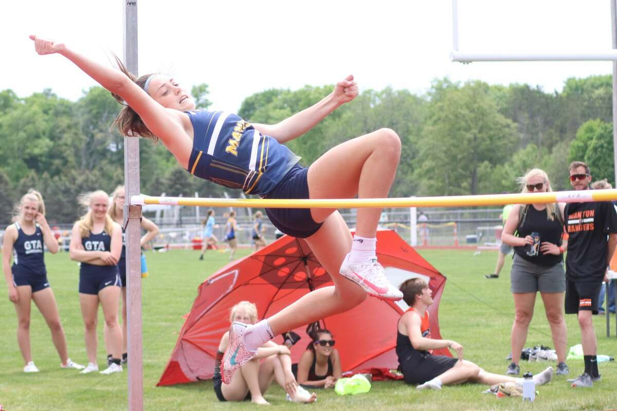 Manistee competes at track and field regionals on May 21 at Benzie Central.
